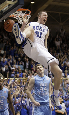 Before The Bigs - NBA Draft 2012 (Round #1, Pick #26)  Miles Plumlee Former Duke Blue Devils Power Forward (Currently Indiana Pacers Power Forward)