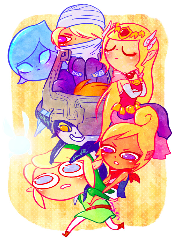 isthatwhatyoumint:  carry that weight! a LoZ print for San Japan