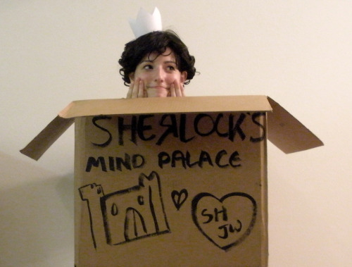 Only quality Sherlock cosplays here.  (Geothebio tonight because I found the perfect box~)