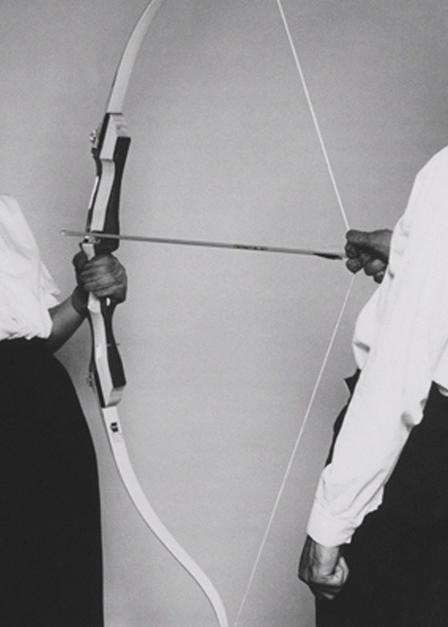 "The Other: ""Rest Energy"", 1980 by Marina Abramović and Ulay"