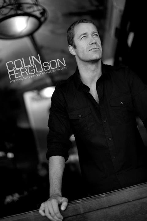 Actor Colin Ferguson - Melbourne 2012 Photographed by Dennys Ilic Styled by Kenneth Meere Assist: Eddie Hobson © Dennys Ilic Photography 2011  — with Eddie Hobson, Dennys Ilic and Colin Ferguson.