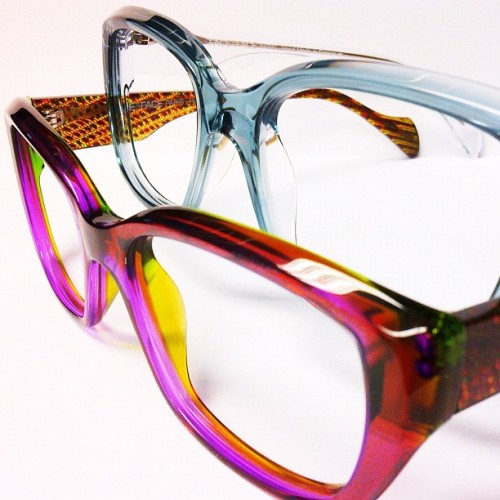 #FaceaFace is known for some #beautiful #color combinations. #eyewear #eyeglasses #glasses #glassesporn #frames #fashion #accessories #vancouver  (Taken with Instagram at The Optical Boutique)