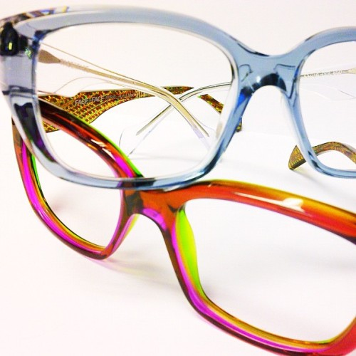 A closer look at those oh so #colorful #faceaface #frames . #glasses #glassesporn #fashion #optical #eyewear #accessories #vancouver  (Taken with Instagram at The Optical Boutique)