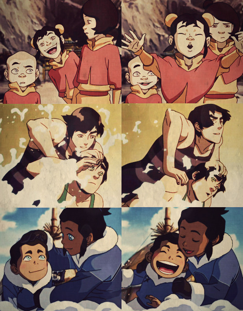 Things we like in The Legend of Korra: The sibling relationships