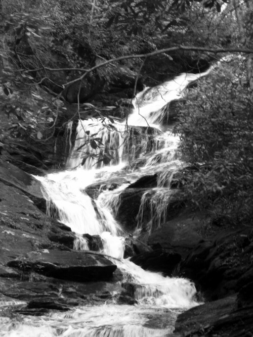 Roaring Fork Falls Mt Mitchell, North Carolina