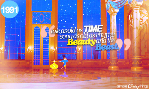 simpledisneythings:  Beauty and the Beast (1991)