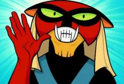 "Brak: Hey Zorak, can I ask you a question?Zorak: Yeah, what?Brak: Where're we gonna find enough squirrels to make a kite?Zorak: Are you really that stupid?Brak: Oh! I dare you to say that again, only this time say ""Brak, I love you."""