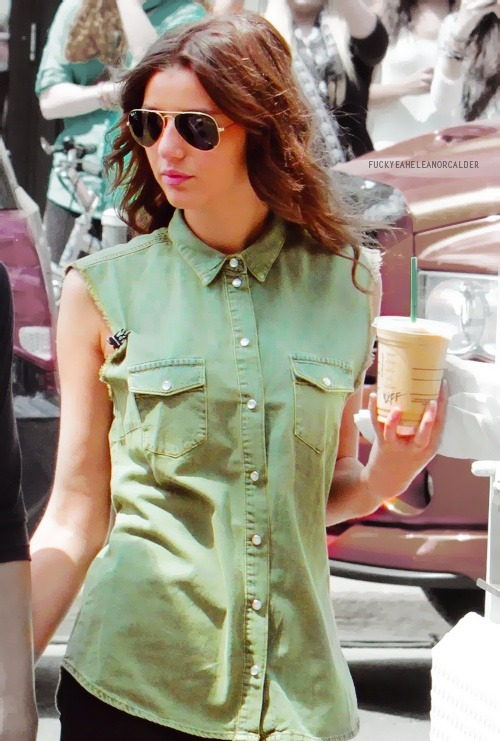 Eleanor Calder is my girl crush, I'd say its a level two girl crush.