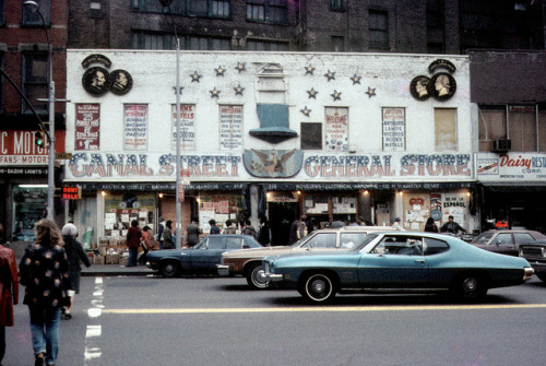 retronewyork:  CANAL STREET GENERAL STORE by Eugene Gannon on Flickr.