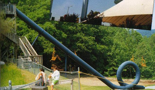 "kittensmcgee:  Action Park via wnyc & longform:   Wikipedia entry for ""Traction Park,"" central New Jersey's most dangerous mid-1980′s amusement park. 