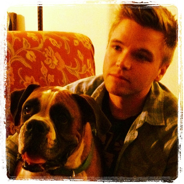 Brett Davern and his dog :) so adorable