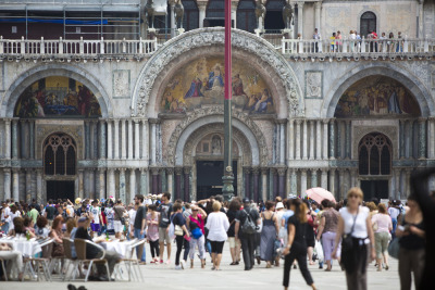 Digital Diary: 7 Artists. 7 Days. 7 Videos. Photo 82 of 90. San Marco's Piazza, Venice. Although the digital diary was filmed all in Friuli Venezia Giulia, after the filming I had a couple spare days to spend in Venice. So my photo diary extended a bit. It was my first time visiting the ancient city and my impression of the place was truly fantastic. I've been traveling for many years now, but this place was simply stunning. From the canals to the architecture, it is truly a unique place in the world. Second in the Digital Diary of Italy series, a set of seven young video makers from all over the world joined us in Friuli Venezia Giulia to do some serious storytelling. I was one of those seven. Over the seven day assignment in Italy, we were force fed prosciutto and drowned in wine daily as we went from the Italian Alps to the Mediterranean Shores. We went kite surfing, horse back riding, caving and cruised through vineyards on vespas (or in my case, a sidecar). I would wake up on a small island and go to bed in an ancient castle. This photo series documents my digital diary of Friuli Venezia-Giulia. The photos accompany this video.  The area is truly beautiful with an amazing population. Please help share the place with your networks by sharing this video. Mille Grazie! Jonah