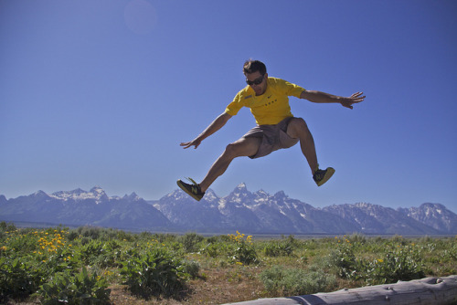 Jon jumps Grand Teton on Flickr.Hopping Grand Teton…
