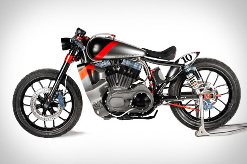 Shaw F1-XLR Harley Nightster Motorcycle I'm fascinated with motorcycles and this motorcycled inspired by Harley's board racers of the 1920's is no exception.