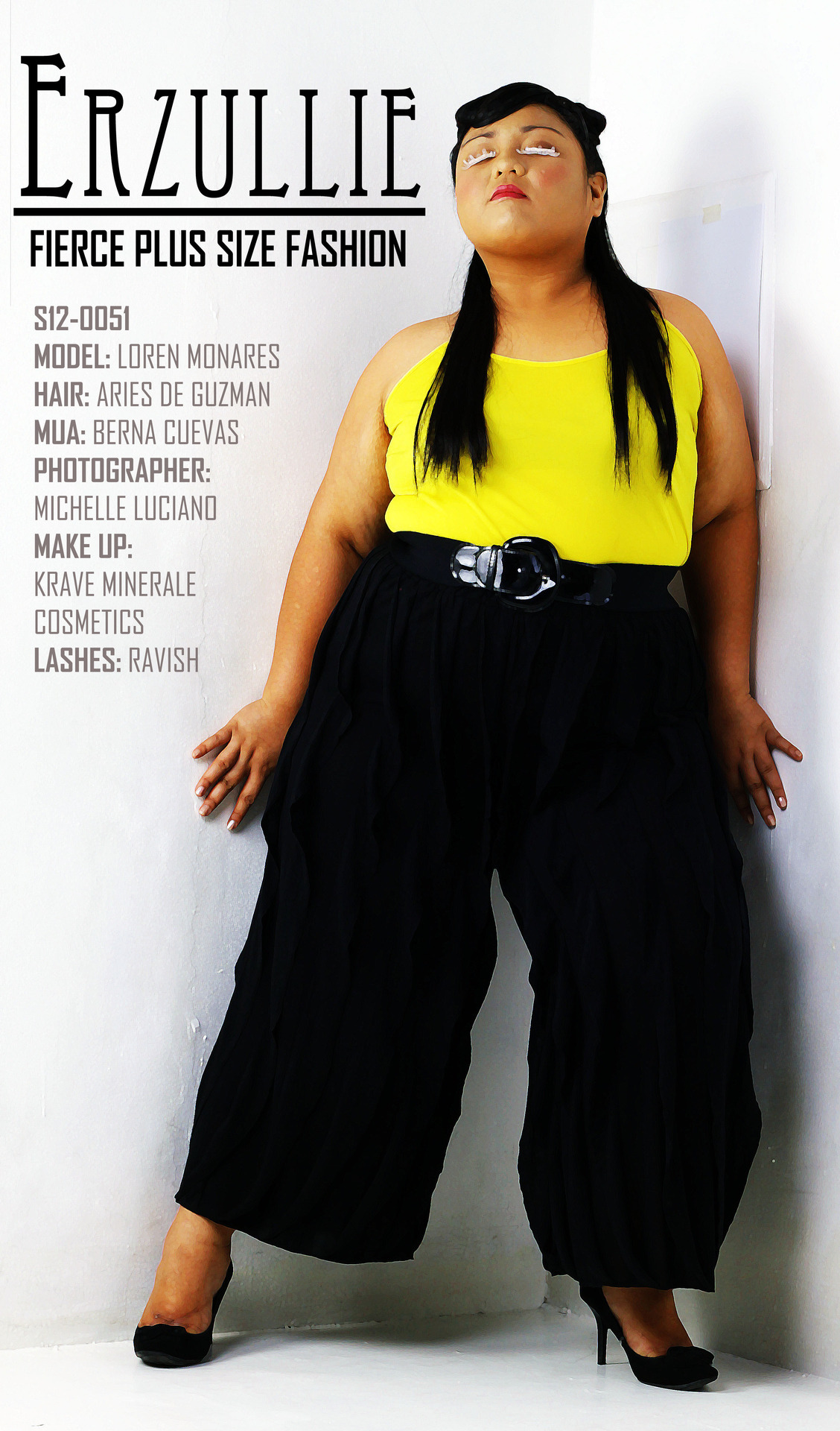 erzullie:  This Erzullie Icon and plus size model, Loren M., is going to do her thing (as well with Katrina C.) at the (Erzullie) Pre-Holiday 2012 photo shoot. Sooo Excited!