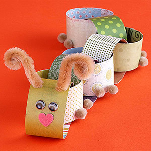 Easy Paper Crafts for Your Kids Margaret VanEchaute, parents.com Jump-start your child's creativity with these simple crafts made from all varieties of colorful paper.