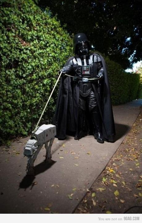 It's time to walk! Follow and see more Star Wars pic's