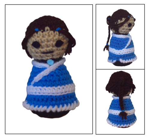 Presenting: Katara of the Water Tribe by ~Coconut-Soldier Do want.