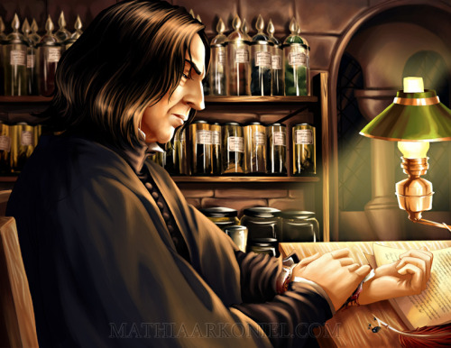 (via hp: Severus by *MathiaArkoniel on deviantART)