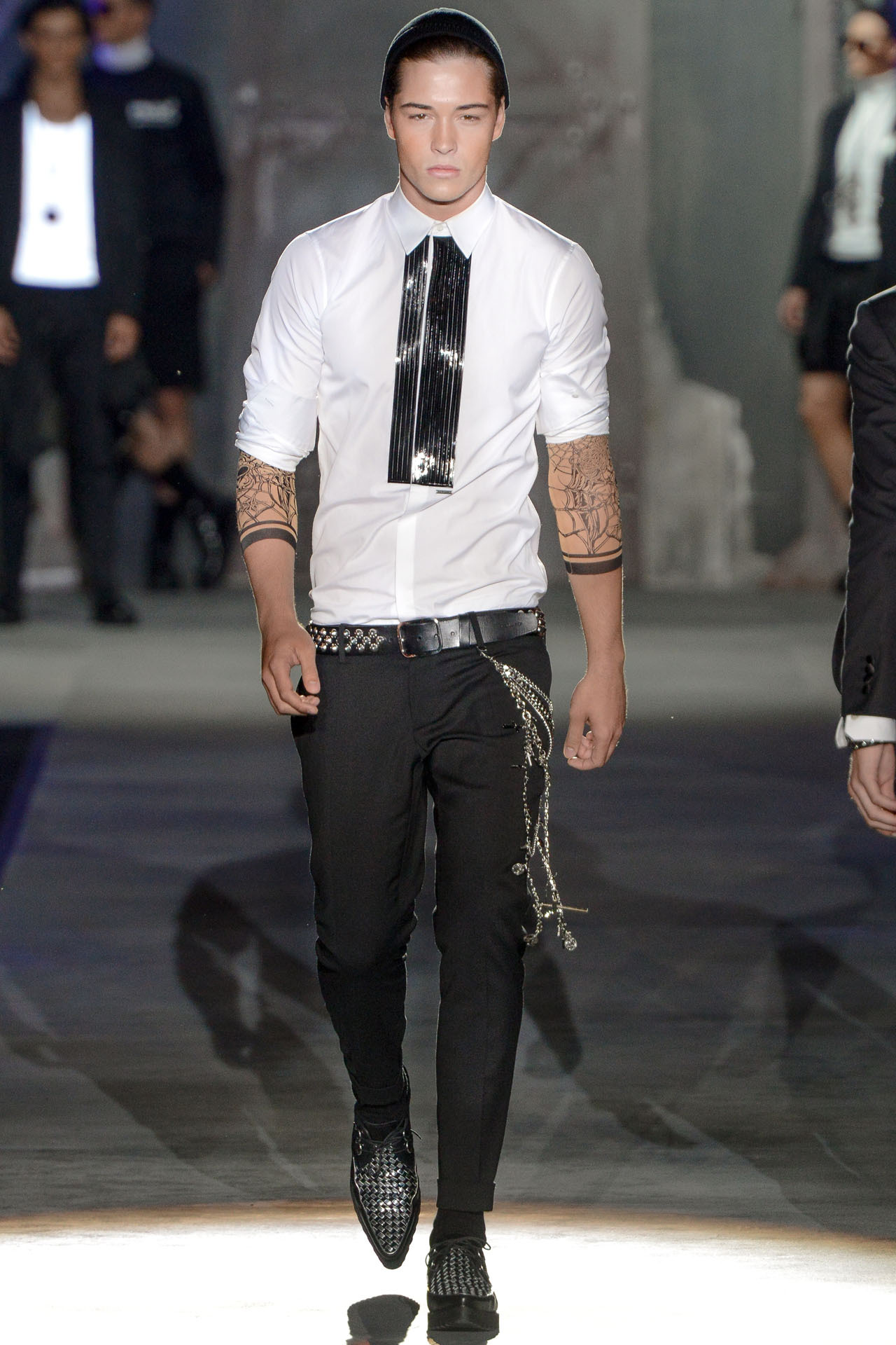 Francisco Lachowski for DSquared2 SS 2013