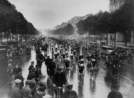 The start of the Tour de France, 1932 from a New Yorker gallery