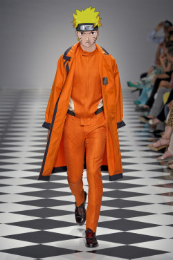 narutoxfashion:  Uzumaki Naruto in Siviglia Spring-Summer 2013