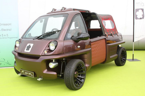 Goodwood Festival of Speed 2012 - Mia Rox Convertible Electric Microvan by growler2ndrow on Flickr.Goodwood Festival of Speed 2012 - Mia Rox Convertible Electric Microvan