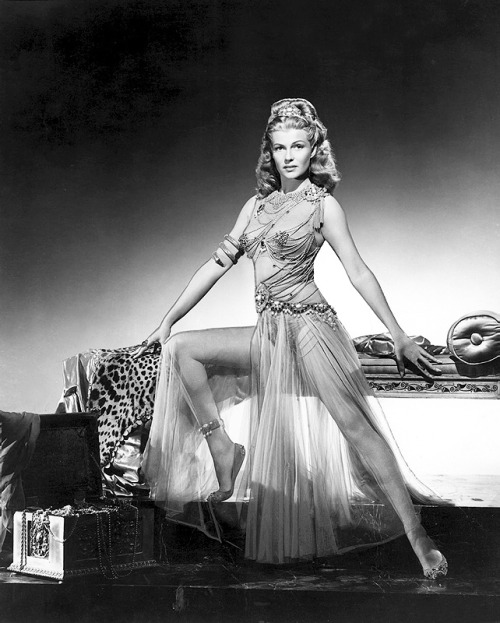 thisisnodream:  Rita Hayworth in a promotional still for Salome, 1953.