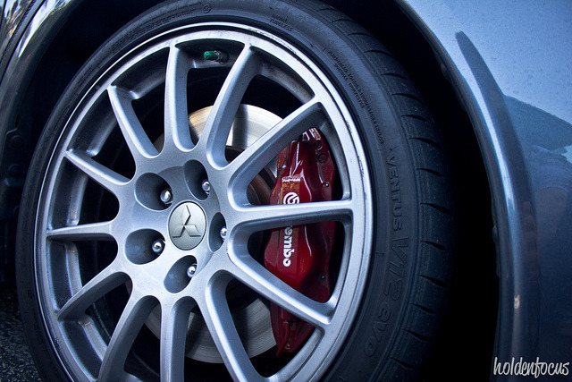 Lancer Evo Brembo on Flickr.