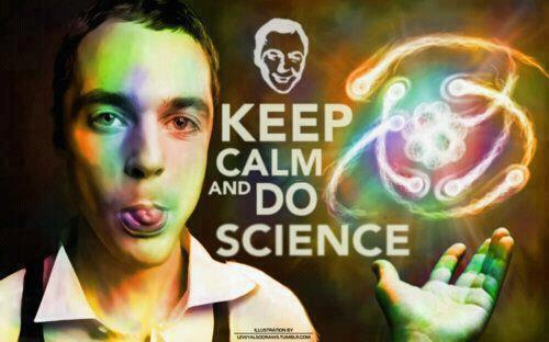 scarlettvalo:  Keep calm and do Science ! ♥