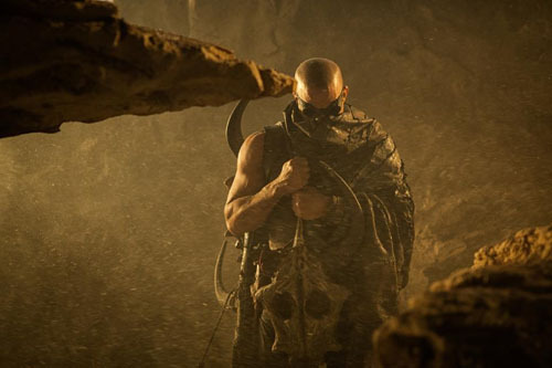 New Riddick image arrives Riddick has released a new image online, with star Vin Diesel also taking time out to give his thoughts on the first cut of the new film…
