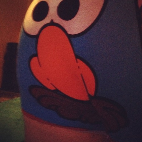 The Mr. Potato Head boxers Imogen got me, yeah I'm posting a pic of my arse, deal with it ;) #PotatoHead #Underpants #Arse #Ass #Bum #SuckMyHoop (Taken with Instagram)