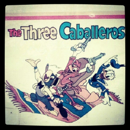 The Three Caballeros! (Taken with Instagram)