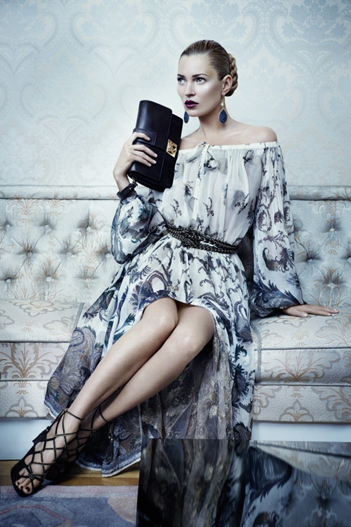 mirnah:  Kate Moss for Salvatore Ferragamo Fall Winter 2012.13