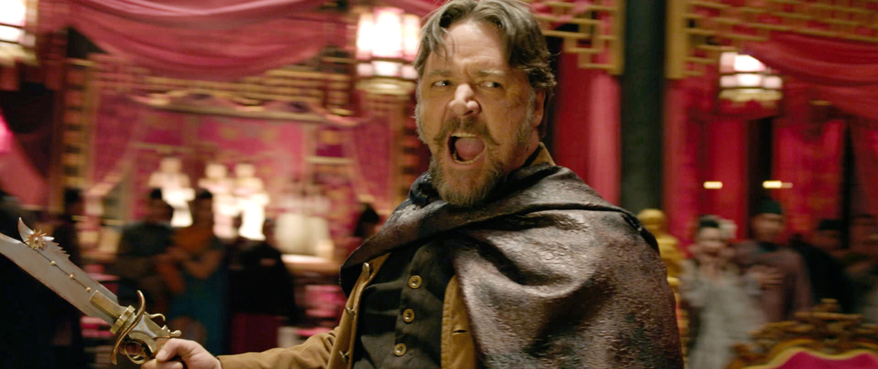Russell Crowe in The Man with the Iron Fists This movie is my life!