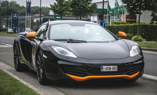 Holy Grail Starring: McLaren MP4-12C (by Patrice Minol)