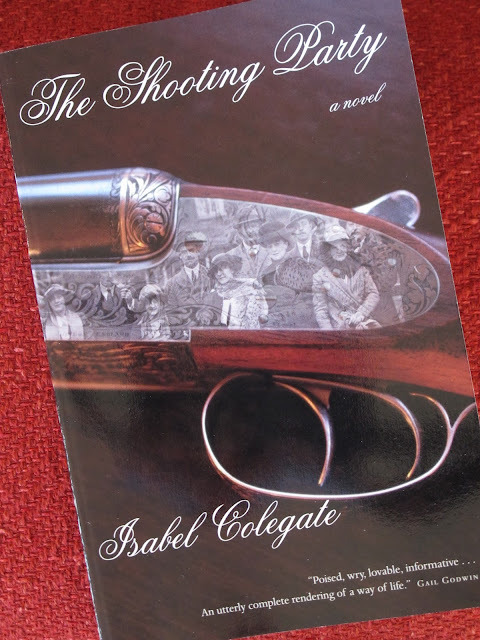 The Shooting Party by Isabel Colegate provides an interesting counterpoint to Fitzgerald's This Side of Paradise. Both novels dissect upper class society on the eve of World War I. Both are acutely aware of their characters own awareness of standing on the edge of something. Both are written by class insiders too. Whereas Fitzgerald writes, quite literally, from the trenches, Colegate writes in retrospection but from a culture- post WWII Britain- that explicitly rejected the values and habits of the gentry.  Fitzgerald caused a stir by writing about times as they were, Colegate's audacity lay in writing about a deeply unpopular time, and in the daring to suggest that rich people might have inner lives too. Now, however, is not the time to debate the merits of 'working class' fiction. The power of Colegate's work rests in its simplicity. It covers 24 hours in Nettleby Park. The action never leaves Oxfordshire, nor does the author resort to any particularly 'literary' or avant guard trappings. She simply tells a story of a society on the edge of collapse. Sir Randolf Nettleby hosts a variety of guests for a grand fall shoot. His goal is simply for things to go off right. He represents, in many ways, the best of the old guard. He treats everyone with civility and his humanity has a way of making friends of enemies. His aim is not to impress his guests with the greatest shoot in history nor to prove his skill as a marksmen, but to simply be a good host. Unfortunately society in the form of his guests will not allow that. Competition, grossly ungentlemanly in Sir Randolf's eyes, breaks out among two of the leading lights. Small, inadvertent slights amplify each other and finally reach a tragic, accidental, and avoidable crescendo that grimly foreshadows the coming slaughter in Europe. I guess what strikes me in both Fitzgerald and Colegate is the sense of something coming. The sense that an old world is fading and a new approaching and that the new is entirely unknown. Sir Randolf's impulse to 'head for the hills' is understandable, but ultimately his choice not to is as heroic as his life will allow him to be. Both books are good reading for our times, reassurance that things have changed before and Colegate's look back past two wars is proof that humans can endure and need not head for the hills just yet.  PS, Downton fans will eat this up. It is an episode in book form.