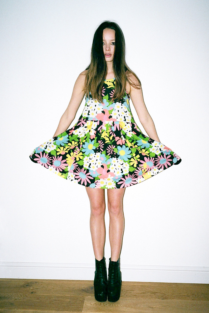 This flower power summer dress is half price at just £30 for this weekend only!