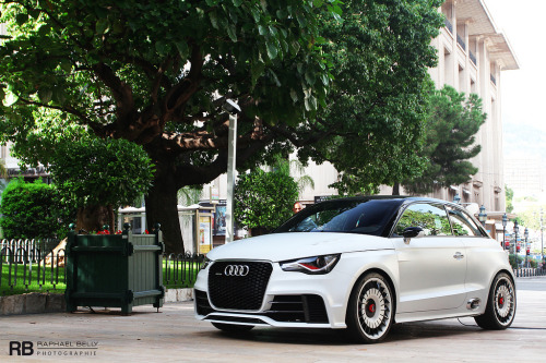 carpr0n:  Little wild animal Starring: Audi A1 Clubsport Quattro (by Raphaël Belly)