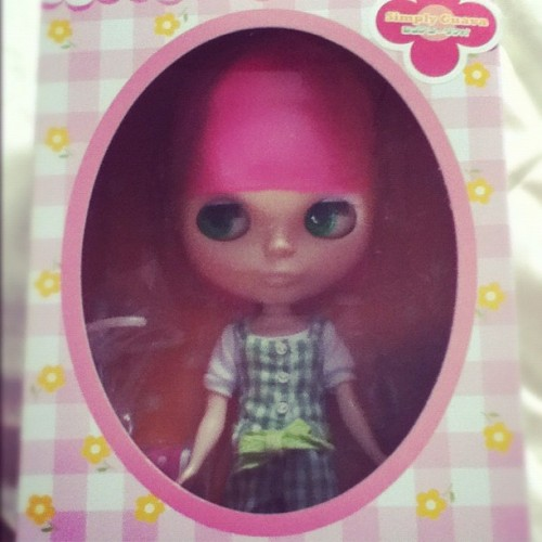 My #blythedoll #simplyguava (Taken with Instagram)