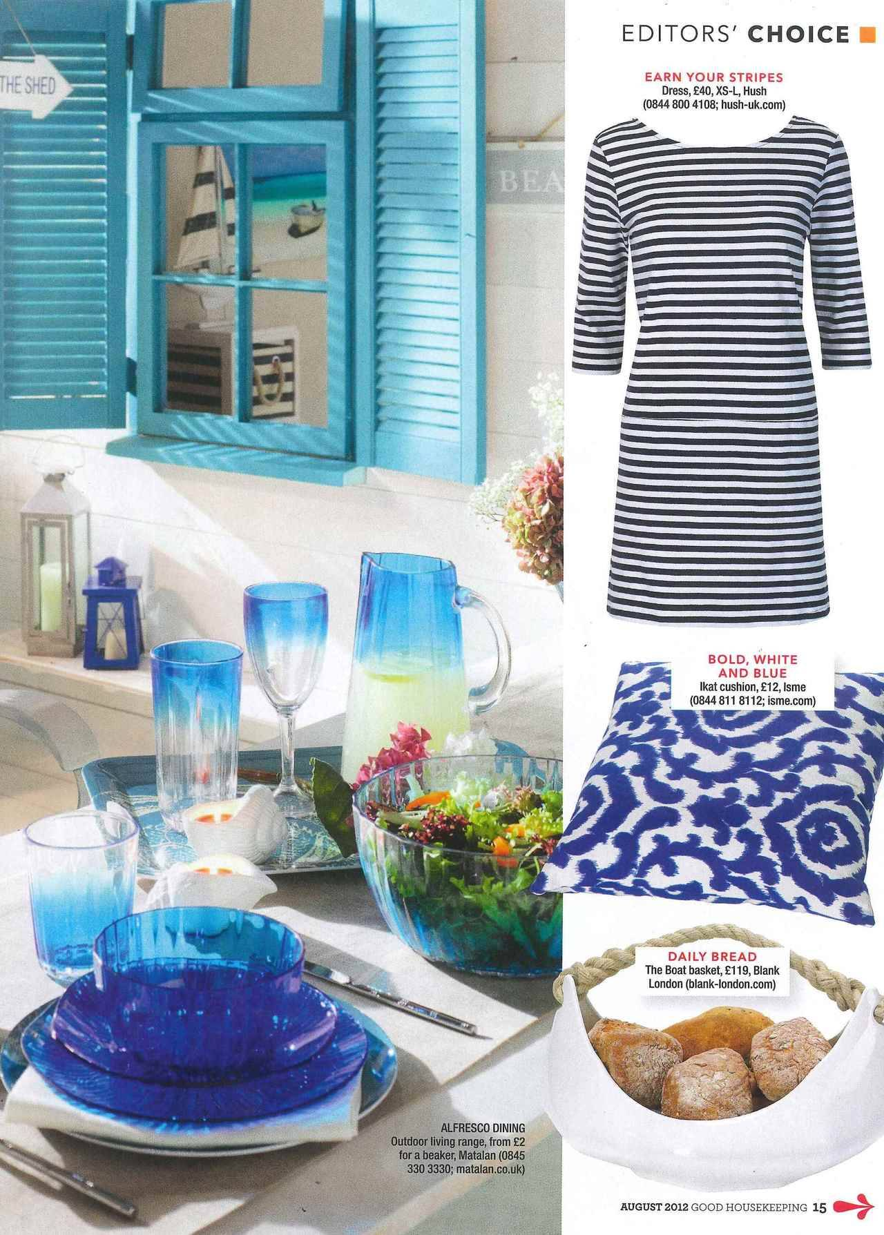Blank London in Good Housekeeping