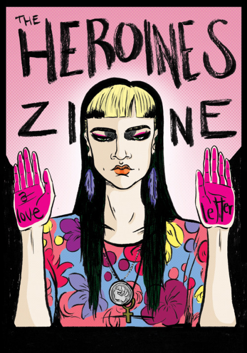 "this seems nice. girlsgetbusyzine:  heroineszine: RE-POST FOR OPEN SUBMISSIONS! For ages I've been wanting to draw a little zine about heroines/female role models. Because, you know, it wasn't until I was about 18 or 19 that I even had any. All my heroes were men, everything I wanted to do was what men did, and there were very few women who inspired me to want to be LIKE them. Now, this was partly due to my upbringing in the middle of nowhere places, partly due to the general visibility of women in the areas of culture and pop culture which I was into at the time – and I quickly realised how wrong I was and how many women out there were being awesome and worth looking up to. And I want to make a little zine to honour these women. And then I thought – why not open that up for contributors? I know tons of women who write/make art/will definitely have something to say on the matter.  The zine will exist eventually as a printed copy, but as that means I won't be able to say yes to all the submissions I get for that, I decided to also start this here submission-open Tumblr, so that everyone gets to have a go. Here's some guidelines: 1. The deadline for the first printed zine will either be late September/early October because else I'm too bogged down with other projects to have time to edit this. Obviously, there's no deadlines for this Tumblr. 2. If you're just writing, you can totally ask someone else to do an illustration to go with the piece. Collaborate in general! 3. I want you all to feel as perfectly comfortable picking a rock star/actress/pop culture icon to write about as well as politicians, authors, scientists, etc. And don't worry about impressing by choosing someone REALLY obscure. It's all about what's inspired you and who you think is important and could be important for younger girls, growing up. Basically, if you want to pick someone obvious like Kathleen Hanna or Karen O, that's fine. Now, what are you waiting for? Click the ""submit"" tab at the top. Go go go!"