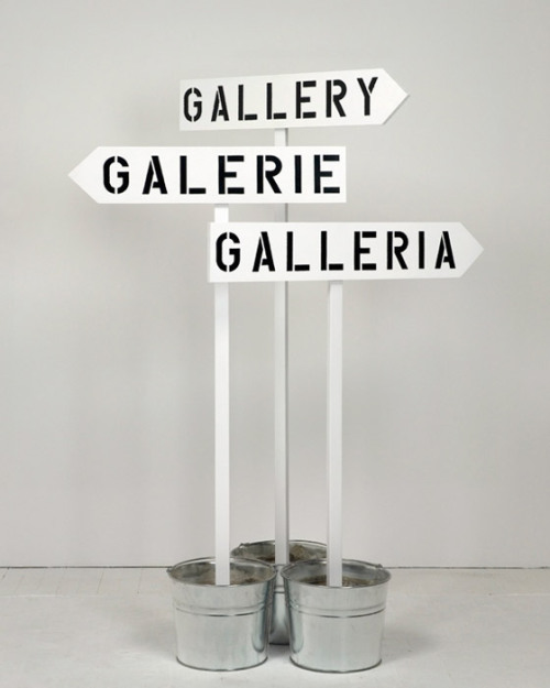 differentheadspace:  Gallery, Galerie, Gal­le­ria, 2010 - RON TERADA