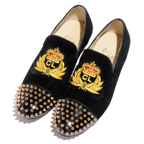 CHRISTIAN LOUBOUTIN | Harvanana Intern Flat Loafers.
