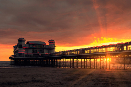 Weston Sunset by martinturner on Flickr.