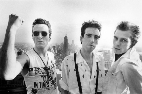 victorymouth:  The Clash, NYC, 1981 | via