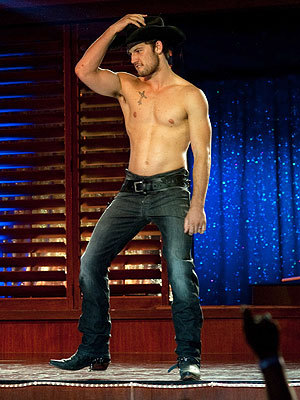 jujubean11:  I had to. Alex Pettyfer AS A COWBOY in Magic Mike :) yummy yum