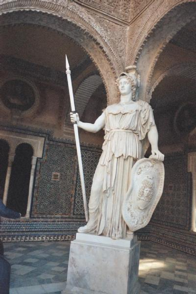 ART in Westeros Nymeria, Queen of the Rhoyne (Statue of Athena - Sevilla, Spain)