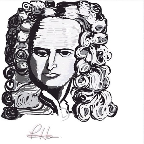 I tried to draw Sir Isaac Newton but…😷😷😷 I hope he doesn't mind!!! 😂😪 #iparindhida #teamdli @teamdli #awesomedrawsome #bestofdrawsomething #doodle #omgpop #drawsomething #drawsomethingdesigns @drawsomethingdesigns #fyoupicasso #drawing #drawsomethingcontest #arts #artmazing #drawanything #drawsomethingartists #drawsomethingart_ #instagramers #igers #portrait #realistic #greyscale #teamdliweek11 #physicist #mathematician #scientist Word : #NEWTON  (Taken with Instagram)