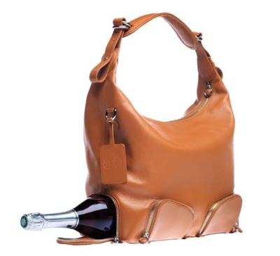 Handbag with a twist, by Claudia Eicke